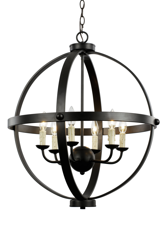 old world design lighting. TransGlobe Lighting Old World Sphere 6-Light Globe Pendant \u0026 Reviews | Wayfair Design L