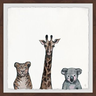 Gaven Animal Life Framed Art by Viv   Rae
