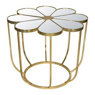 Engels Flower Mirrored Coffee Table