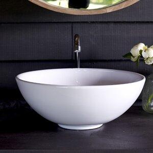 Tikamoon 41 cm Aufsatzwaschbecken Vasque