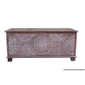 Eriq Trunk Coffee Table by Bungalow Rose