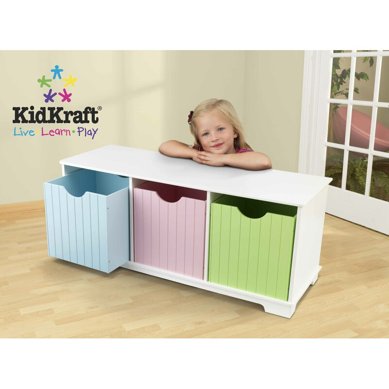 Kidkraft Nantucket Children S Bench Wayfair Co Uk