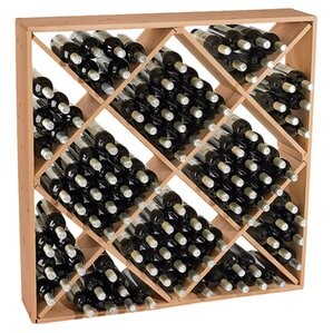 Lymsey 120 Bottle Floor Wine Rack by Darby Home Co
