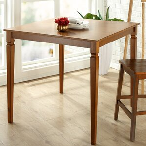 Trenton Square Wood Counter Height Dining..
