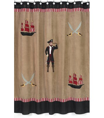 Pirate Treasure Cove Shower Curtain