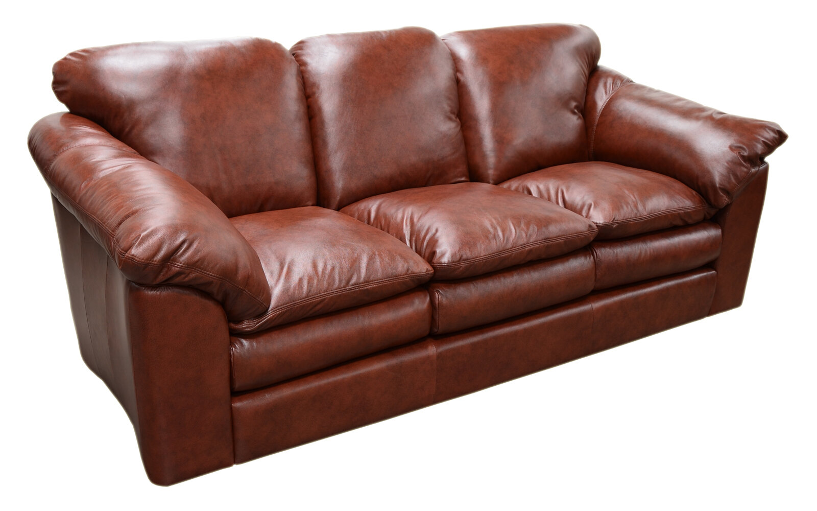 Oregon Leather Sofa