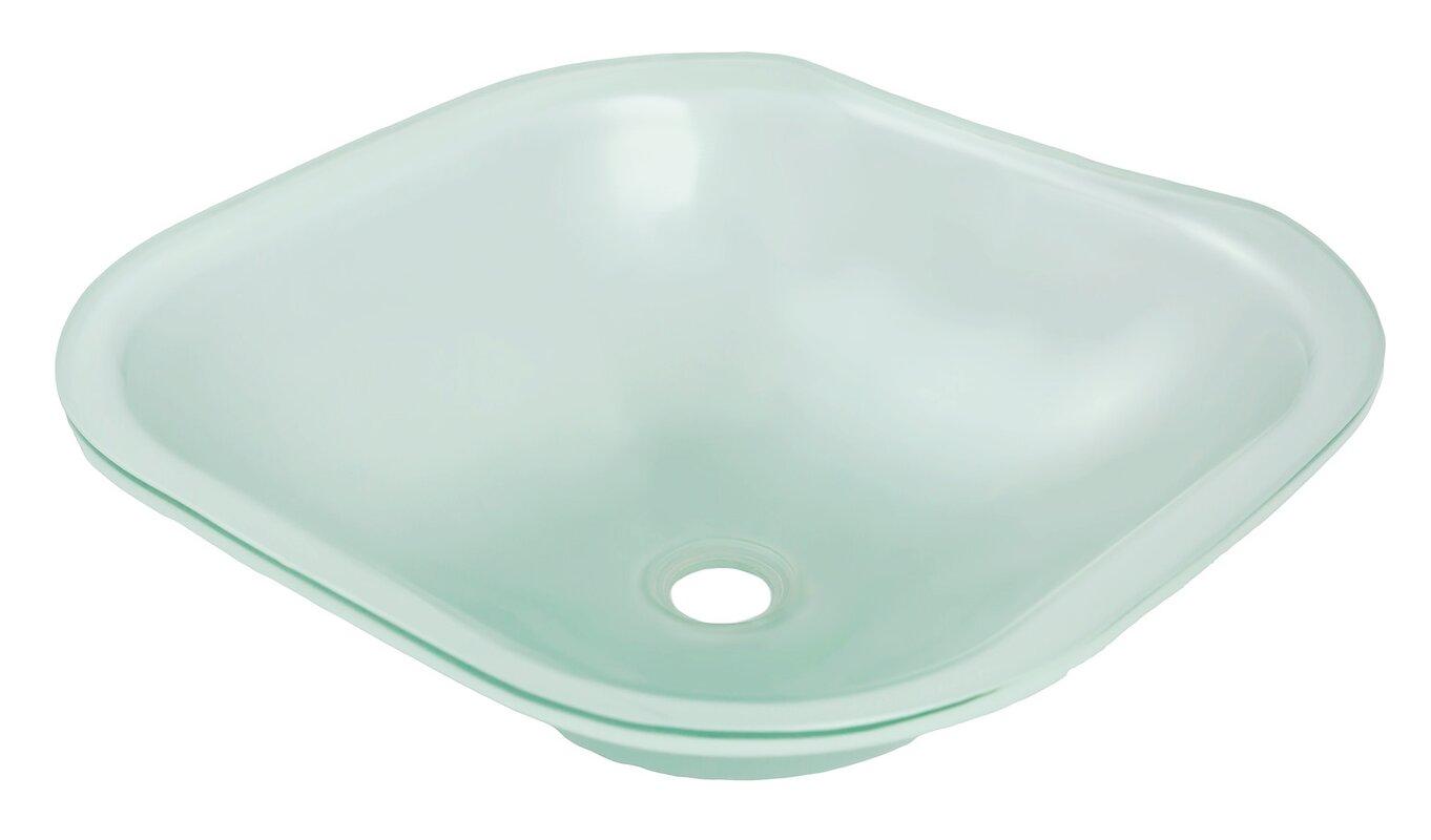 Decolav Translucence Glass Square Undermount Bathroom Sink Reviews