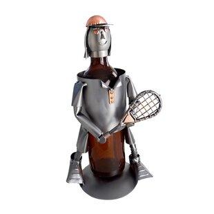 Tennis Female 1 Bottle Tabletop Wine Rack