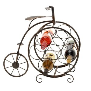 Casa Cortes 7 Bottle Tabletop Wine Rack by EC World Imports