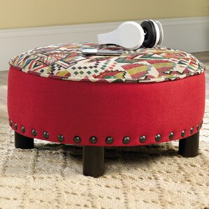 Ryker Ottoman by Bungalow Rose