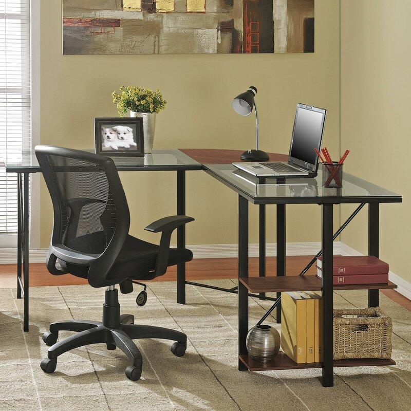 Krupa L-Shape Corner Desk & Krupa L-Shape Corner Desk u0026 Reviews | Birch Lane