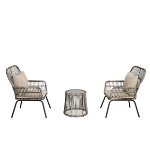Win 3 Piece Rattan Seating Group Set Of
