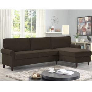 Miltown Sectional by Alcott Hill