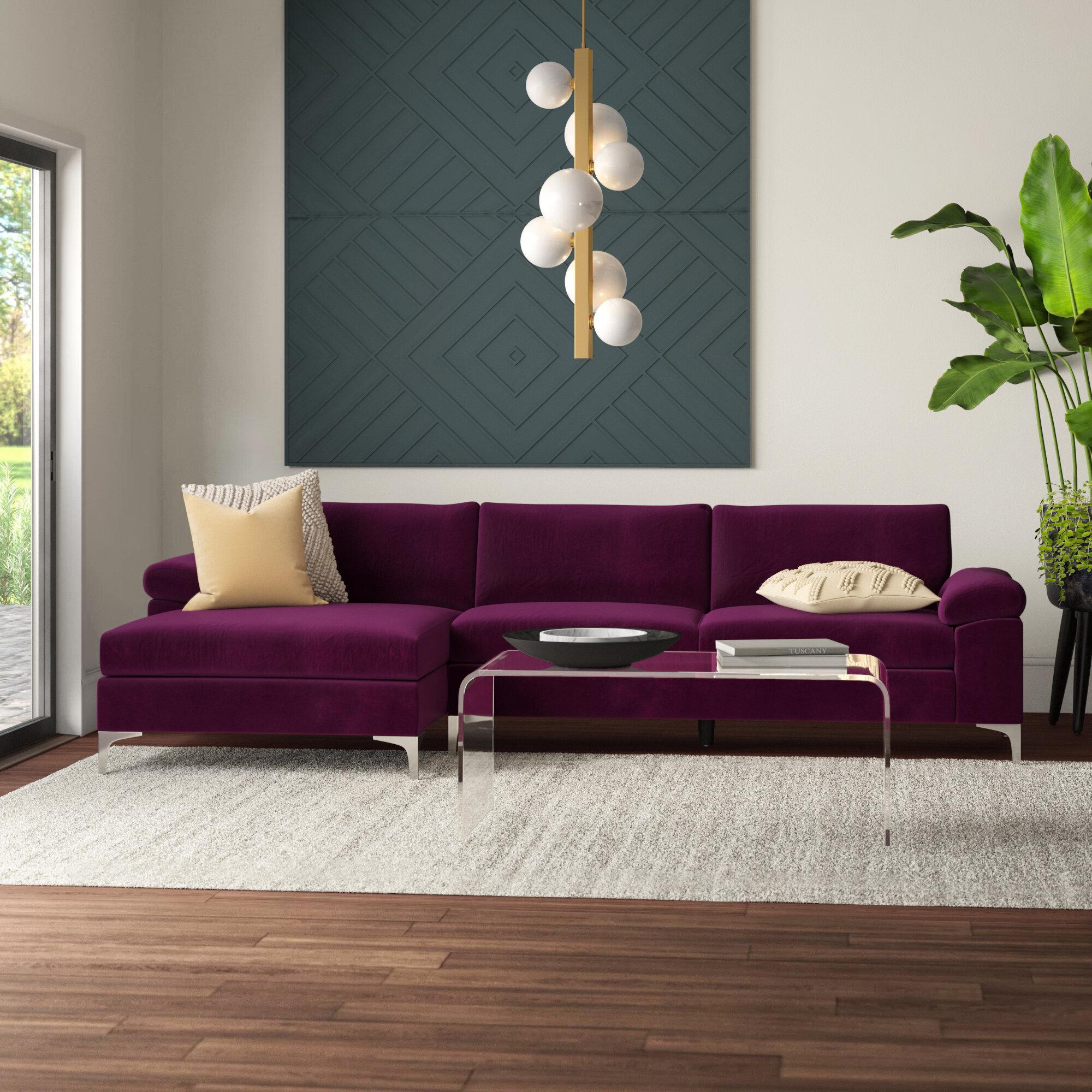 Mercury Row Martello Modern Sectional & Reviews | Wayfair on