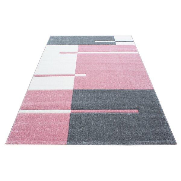 Viburnum Pink Rug by Longweave