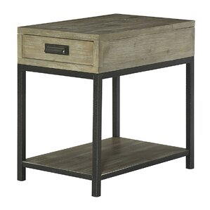 Winooski Wood End Table