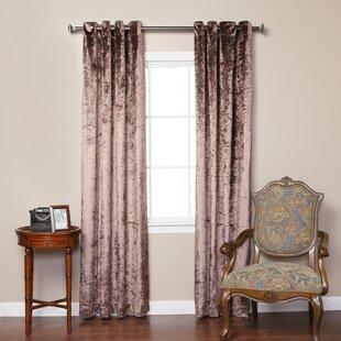 Chocolate Velvet Curtains