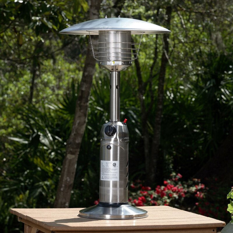 Merveilleux 10,000 BTU Propane Tabletop Patio Heater