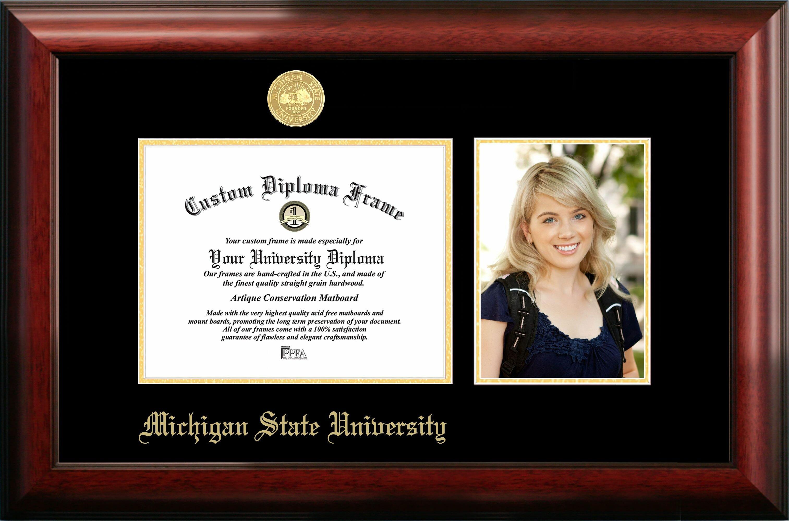 Campus Images Michigan State University Spartan Embossed