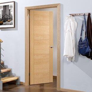 Vancouver Panelled Oak Slab Internal Door by LPD Doors