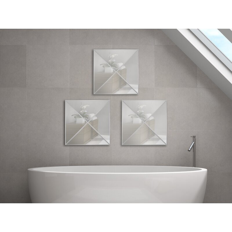 Triangle Style One Wall Mirror