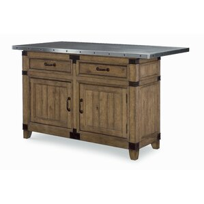 Brigadoon Kitchen Island by Loon Peak