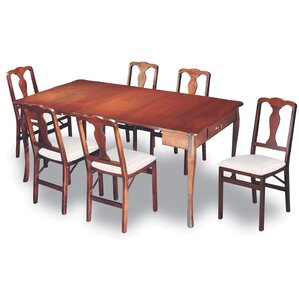 Divernon Traditional Expanding 7 Piece Dining Set by Alcott Hill