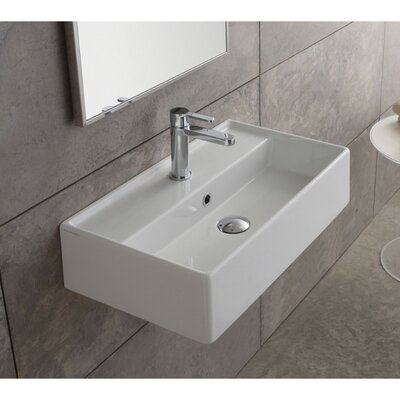 Scarabeo By Nameeks Teorema 16 Quot Wall Mounted Bathroom Sink