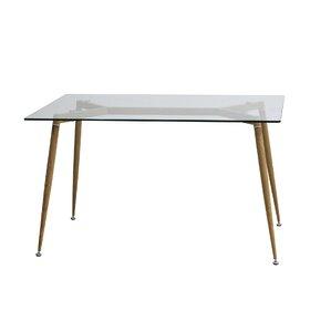 Edgardo Glass Dining Table