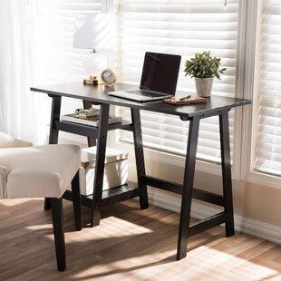 Estes Writing Desk With Sawhorse Legs