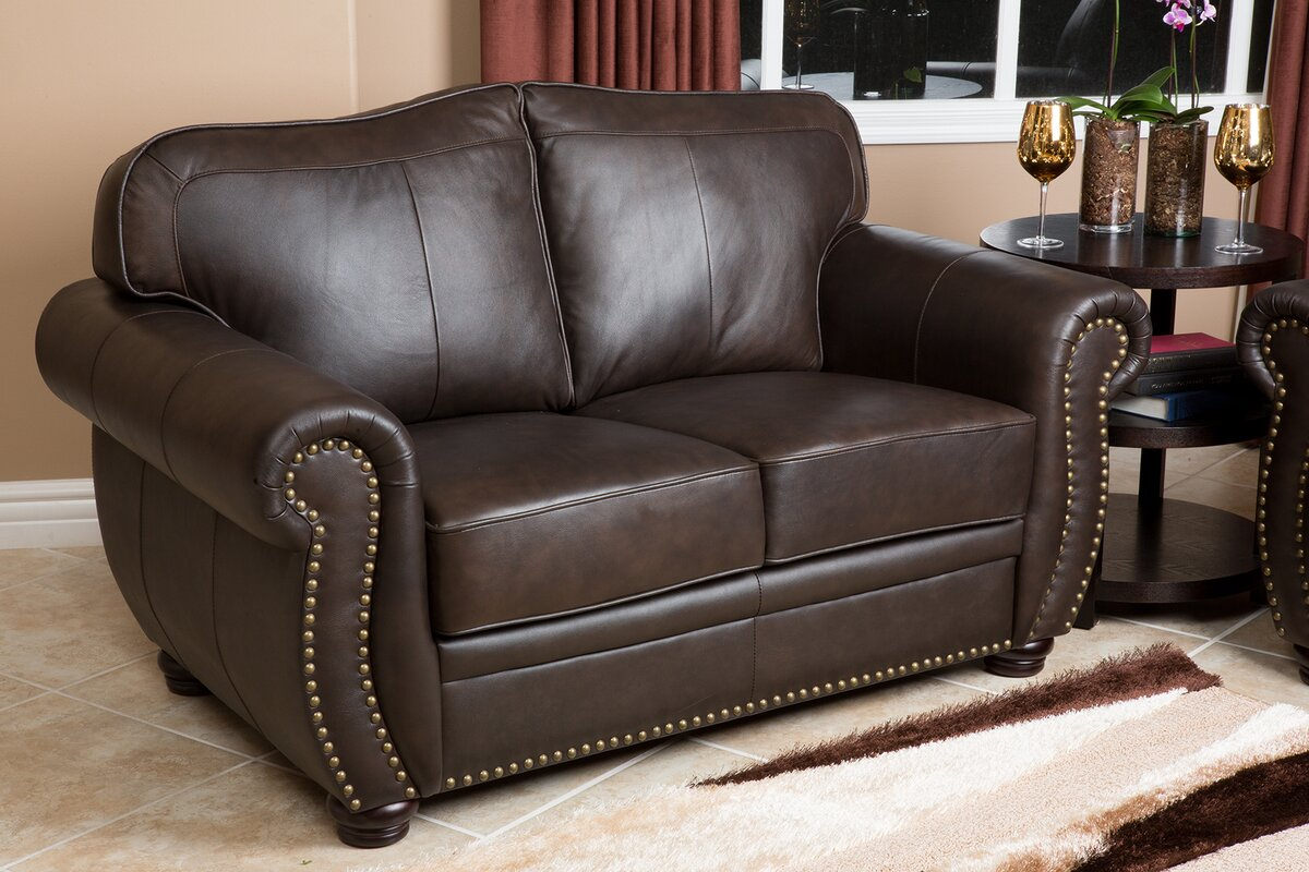 Darby home co morgenstern 2 piece leather living room set reviews 2 piece leather living room set