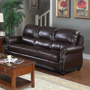 Swain Bonded Leather Sofa