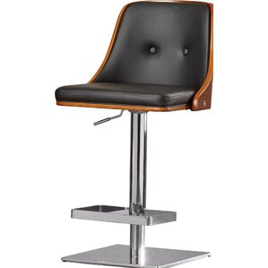 Urban Unity Braiden Adjustable Height Swivel Bar Stool by Sunpan Modern