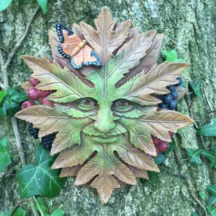 Greenmen Nature Garden Wall Decor