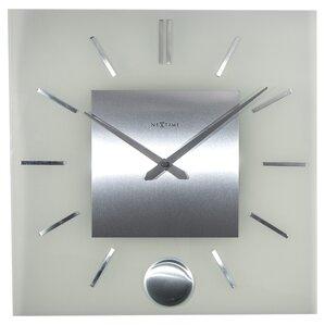 stripe pendulum wall clock
