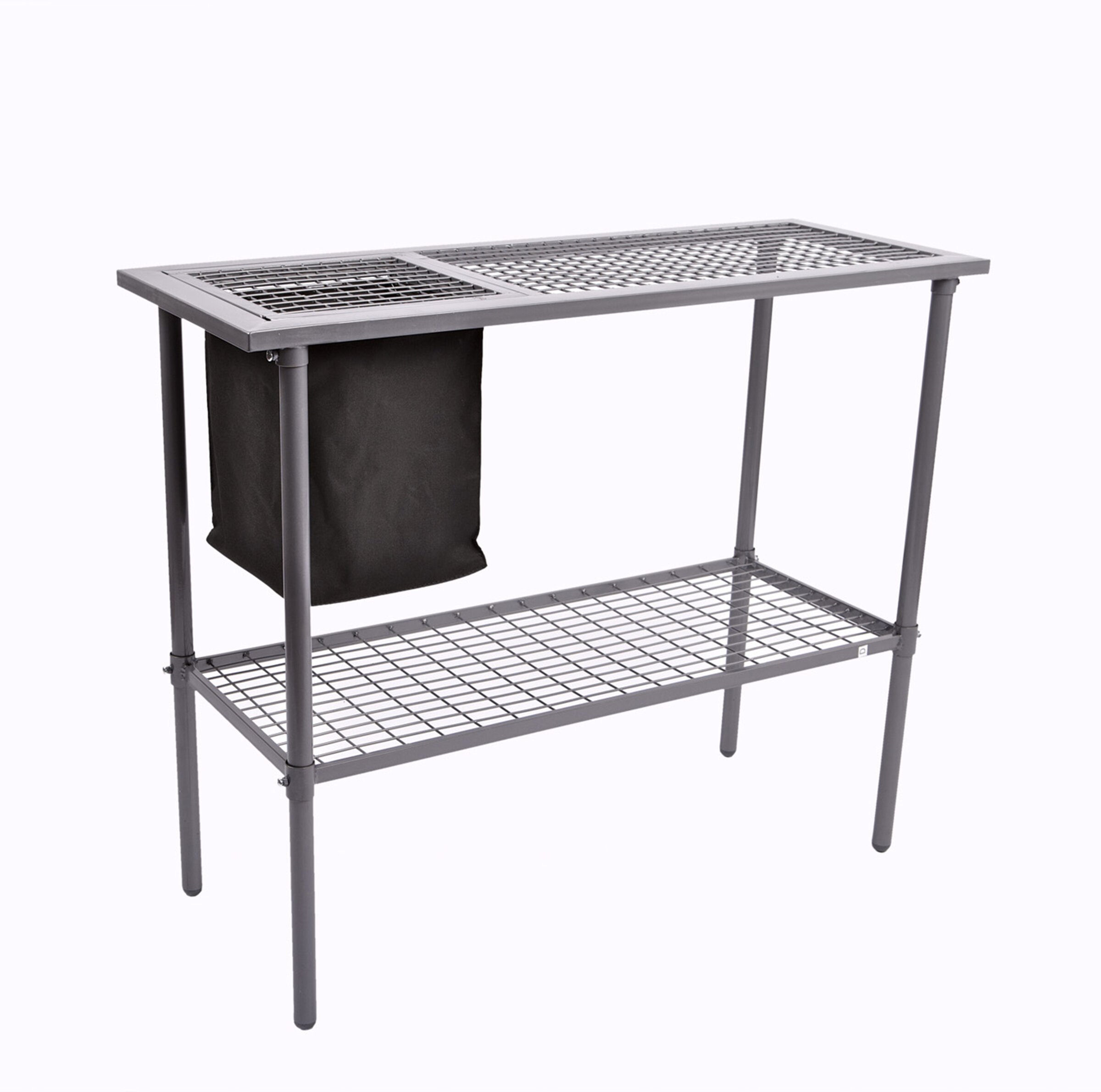 Jewett Cameron Garden Utility Bench with Wire Mesh Top & Reviews ...