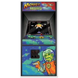 b3088eff1b47 80 s Arcade Game Door Cover Wall Decor (Set of 2)