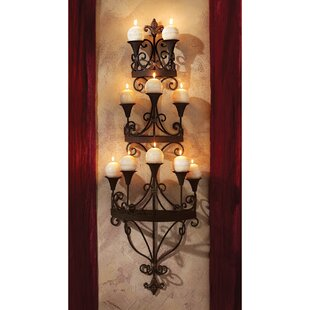 Incroyable Carbonne Candle Chandelier Wall Sconce