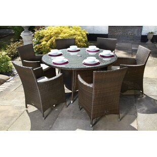 6 seater patio sets wayfair co uk
