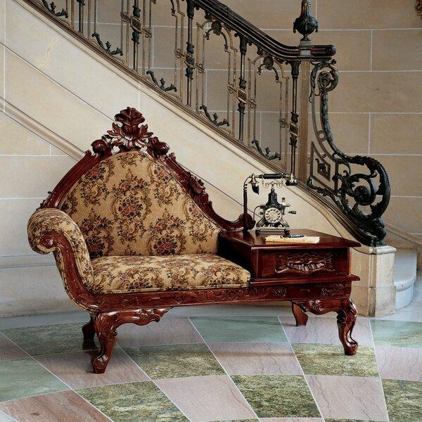 Genial Design Toscano Victorian Storage Bench   Wayfair