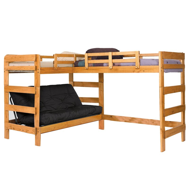 Chelsea Home Twin Over Full L Shaped Bunk Bed Wayfair