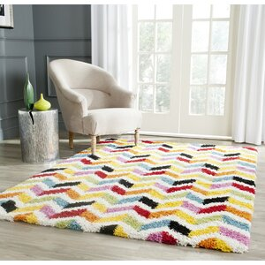 Kids Yellow/Red Area Rug
