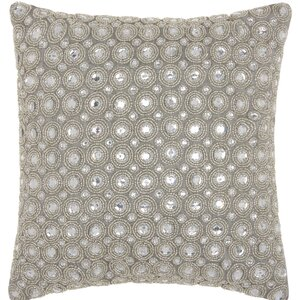 Azu Beads Throw Pillow