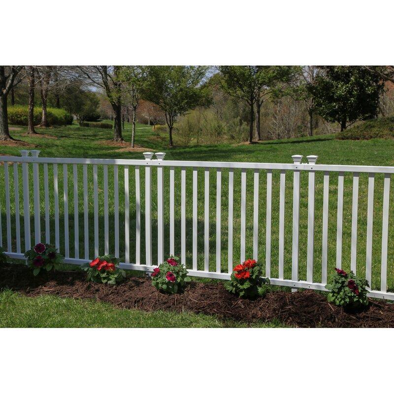 H x 3.5 ft W Baskenridge No Dig Garden Fence Panel | Wayfair.ca