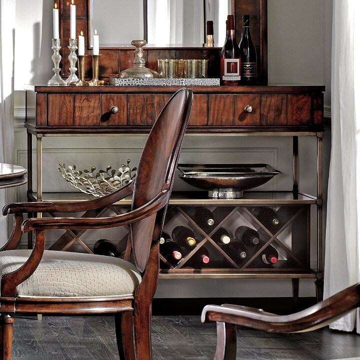Avalon Heights Empire Serving Console Table