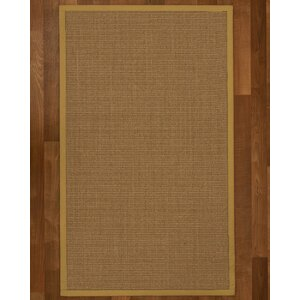 Jamesville Hand Woven Brown Area Rug