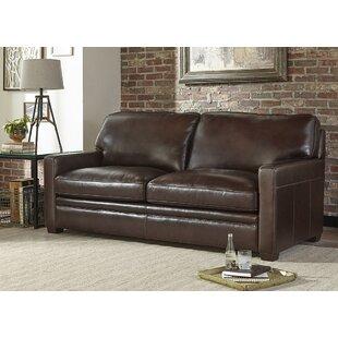 Diego Genuine Leather Sleeper Sofa