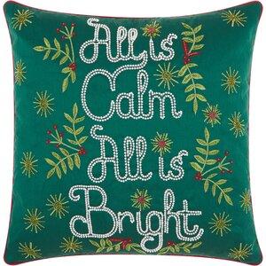 Corydon Cotton Throw Pillow