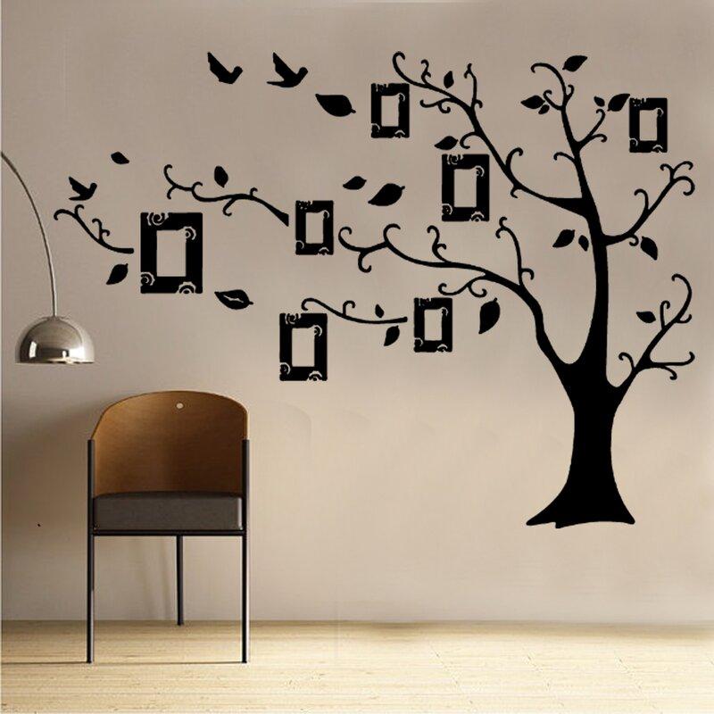 Kult Kanvas Picture Frame Tree Decal Vinyl Wall Sticker Wayfaircouk