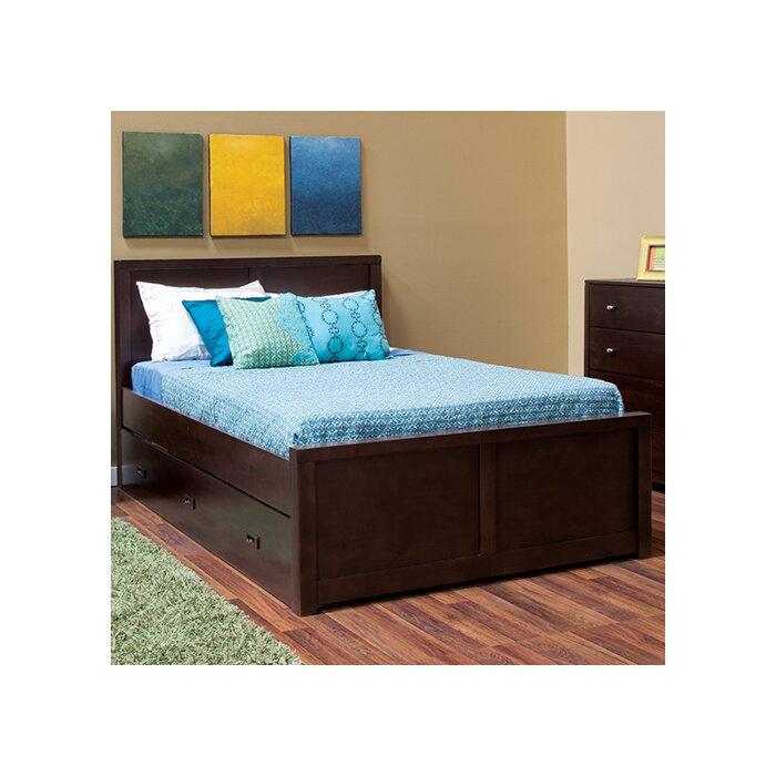 beds full santa dark product br pc slgh fl bed cherry cruz santacruz wood sleigh